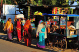Colourful Female Procession