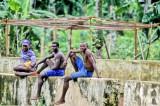 Men Hanging On