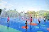 Children's Garden Against The Heat