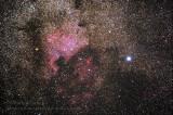 Nébuleuse de l'Amérique du Nord / North America nebula