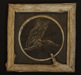 owl framed