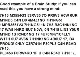 CAN YOU READ THIS???