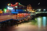 Redondo Pier Moonlight