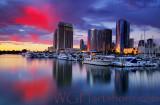 Harbor Sunset Twilight