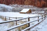 Capitol Reef Winter Barn