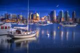 San Diego Moonlight Bay