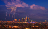 Lightning Over Los Angeles