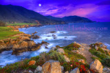 Big Sur Moonlight Bay