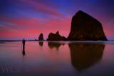 Cannon Beach Sunrise Reflections