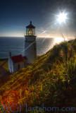 Heceta Head Lighthouse Sunburst
