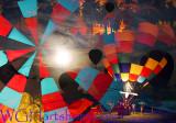 Balloon Festival Abstraction