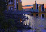 Venice Sunrise Abstract