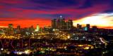 Los Angeles Fiery Sunset