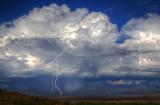 Lake Henshaw Thunderstorm