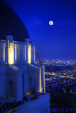 Griffith Observatory Moonlight