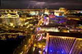 Lightning over LAS VEGAS