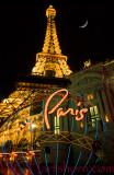 Paris Tower Neon Moonlight