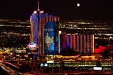 Las Vegas Rio Moonset