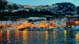 Twilight in Capri Italy