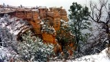 Mather Point Winter Arrival