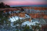 Grand Canyon Winter Sunrise