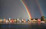 Marina Del Rey Double Rainbow