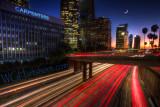Los Angeles Freeways Twilight