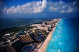 Cancun Coastal Parasail