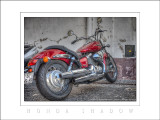 2013 - Honda Shadow - Largo do Colégio - Funchal, Madeira - Portugal