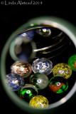 8th February 2014 - scrutinising my marbles