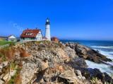 Portland Head Lighthouse, Cape Elizabeth, Maine