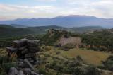 lycian ancient city of Pinara. The theatre