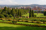 Overlooking the grounds of the Union Buildings