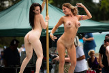 Indiana - Nudes A Poppin' 2015 -  Fawn Marie & London Faye