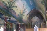 22.  The painted church near Kona.