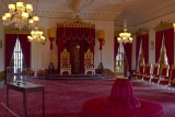 33.  The throne room in Iolani Palace.