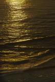 35.  Sunset on Waikiki Beach.