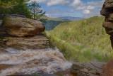 8.  The lip of Kaaterskill Falls.