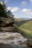 9.  The lip of Kaaterskill Falls.