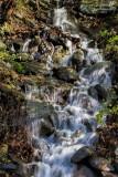 12.  A mini-falls along Route 23A.