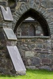 14.  A buttress of the old church.