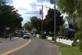 1.  Along upper Main Street