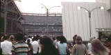Entering Stadium from IRT Subway Station