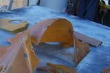 911 RSR Small Fan Engine Fiberglass OEM Used - Photo 3