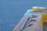 911 RSR Small Fan Engine Fiberglass OEM Used - Photo 7