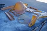 911 RSR Small Fan Engine Fiberglass OEM Used - Photo 16