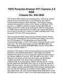 Porsche 911 RSR Kremer / vin 005 0005 - History - Page 1