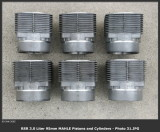 1974 Porsche 911 RS RSR IROC 3.0 Liter Factory 95mm MAHLE Racing Piston and Cylinder Set - Photo 5
