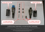 1974 Porsche 911 RS RSR IROC Factory BOSCH Fuel Injectors DV0460 Matched to 3.0 LIter RSR Pump - Photo 3