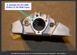 1974 Porsche 911 RS RSR IROC Factory 4-Bearing Support 47mm Small Diameter Cam Journals, Restored - Photo 4